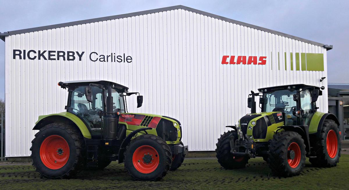 Rickerby Carlise Claas Tractors