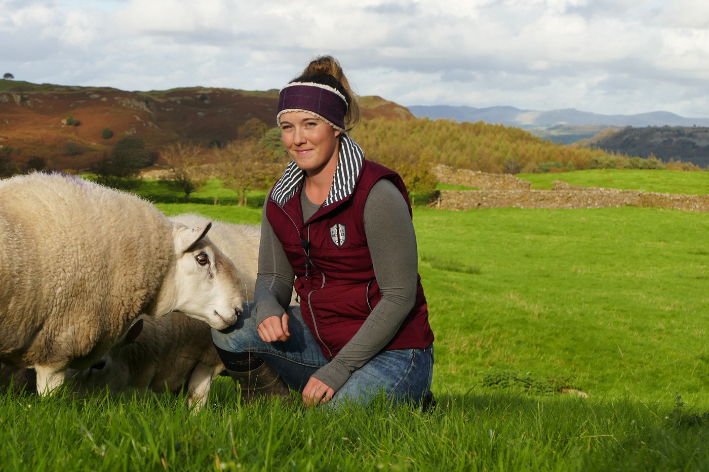 Jodie Swan Sheep Farmer
